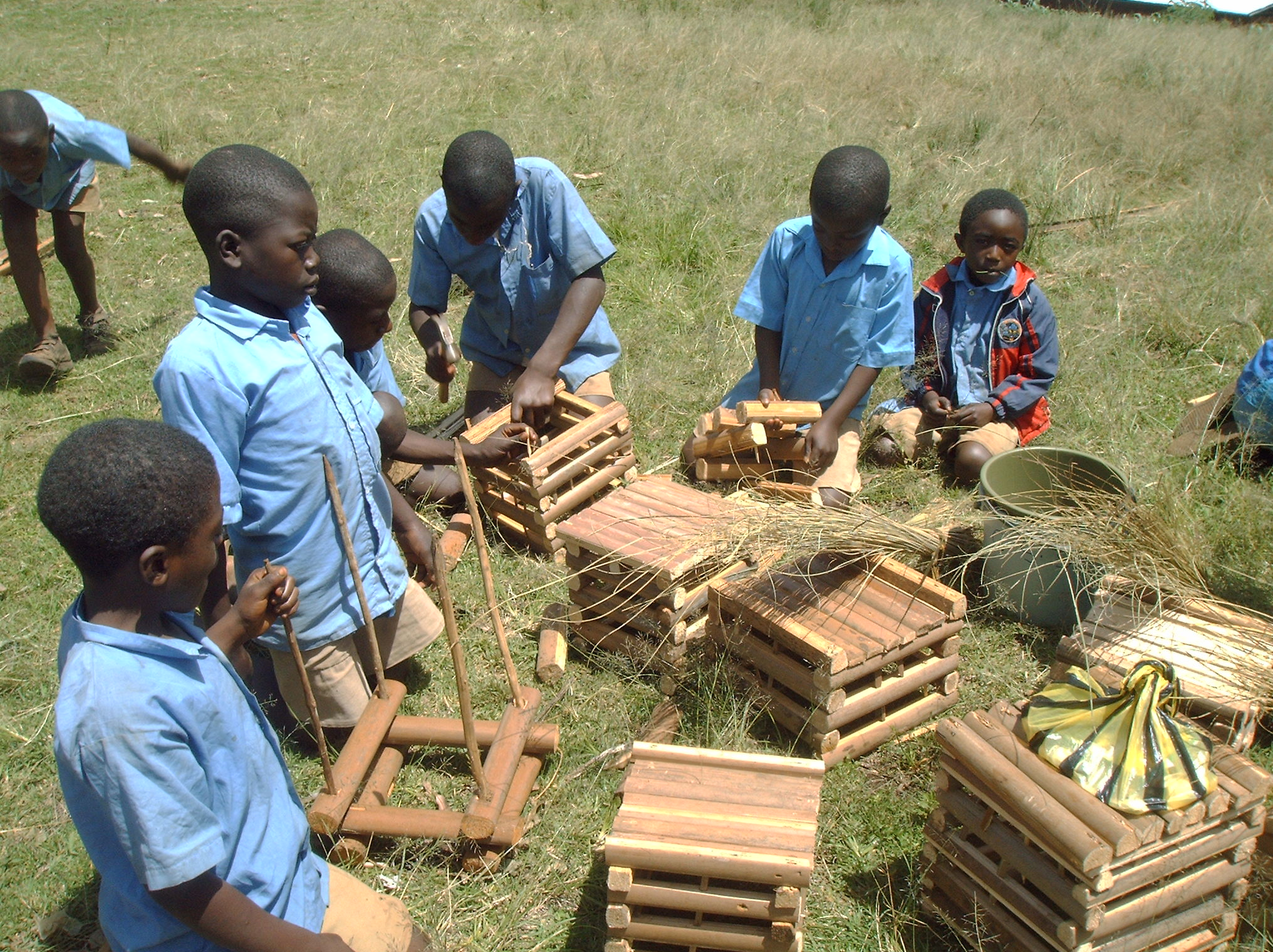 Children Learn-by-Doing Craft Work Project