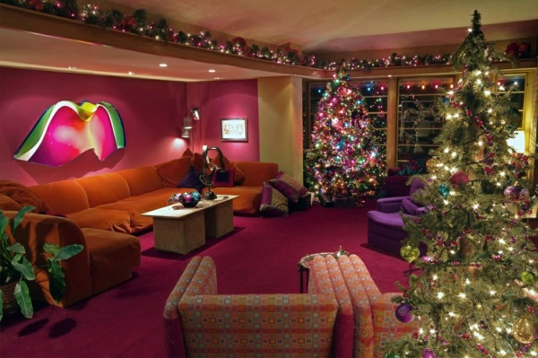 Decorations For Christmas In Ghana : Great colorful interior design ideas for christmas