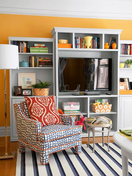 Home Interior Design For Living Room: 20 Decorating Ideas For Family-friendly Living Room