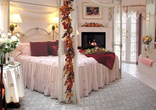 Romantic Valentine Bedroom Interior Design : ... romance in the bedroom for Valentines Day  Interior Design Ideas