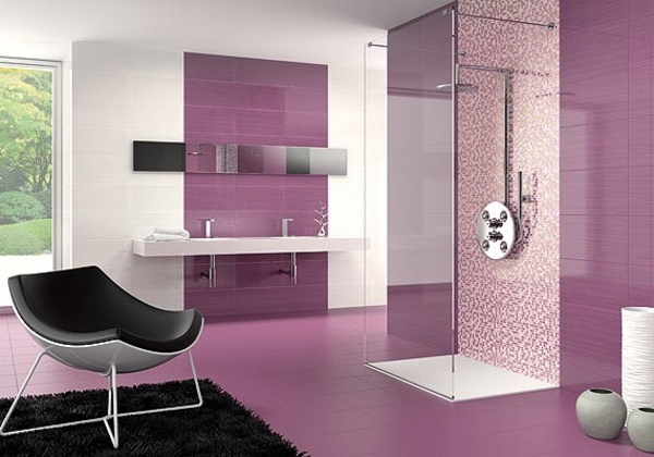 Purple Interior Wall Paint