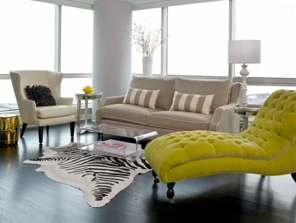 Coffee Table Made Of Acrylic Glass Complements Any Living Room Furniture In