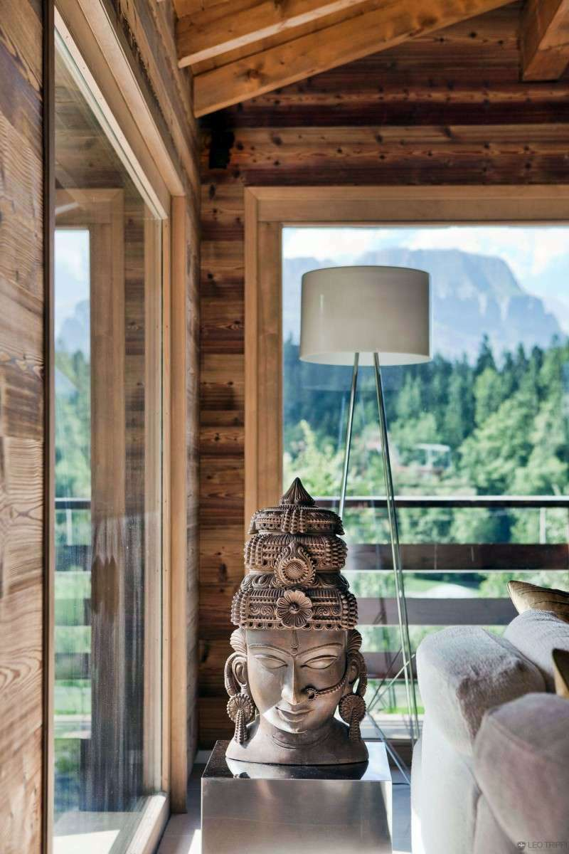 Luxury mountain chalet in the french alps interior for French chalet house plans