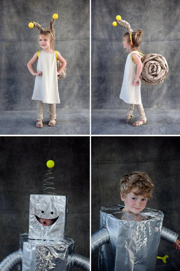 Make Halloween Costumes Themselves