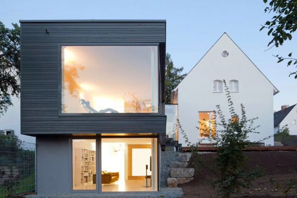 Modern Home Extension – conversion of a traditional German ...
