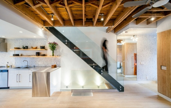 Modern Wood Stairs Move Amp Relax Interior Design Ideas