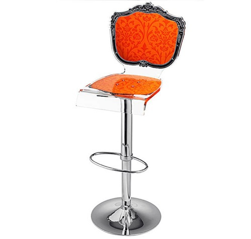 October Sunset 10 Ideas For Orange Bar Stool With