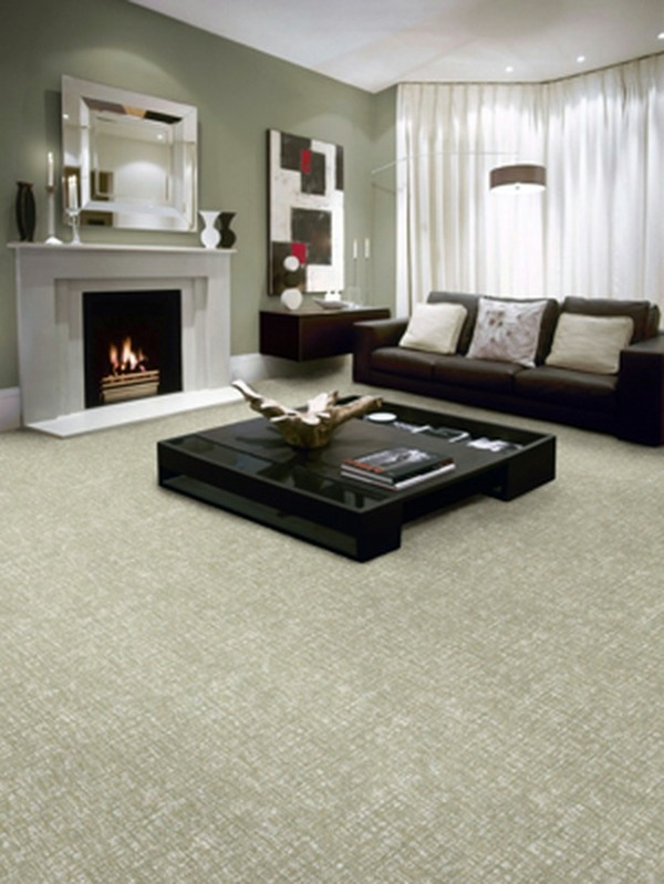 12 ideas on how to integrate a carpet in the living room ...