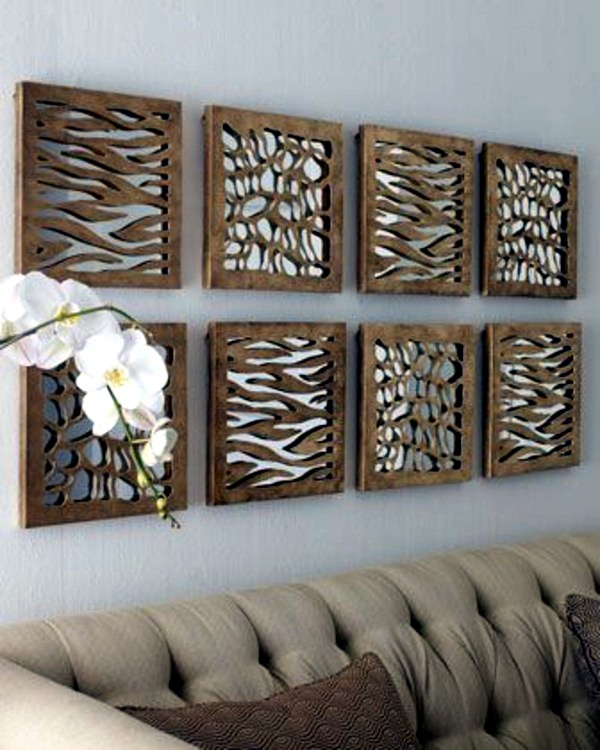 Animal Print Designer Mirrors   Decorating Ideas With Shining Accessories