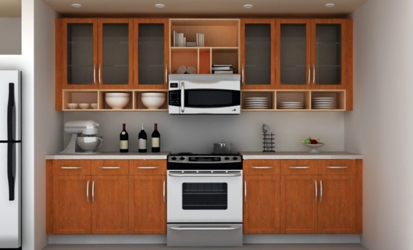 Organize Kitchen Cabinet And Kitchen Shelf Interior