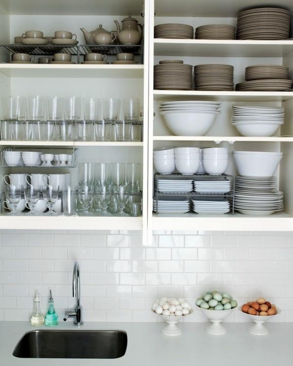 Organize Kitchen Cabinet And Kitchen Shelf