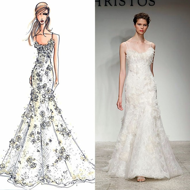 Designer wedding dresses the latest trends in bridal for Design wedding dress online
