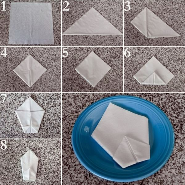 How To Make Table Napkin Designs diy christmas tree napkin folding tutorial christmas tree napkin fold f Unusual Number Of Towels Paper Napkin Folding Instructions Create Festive Tischedeko