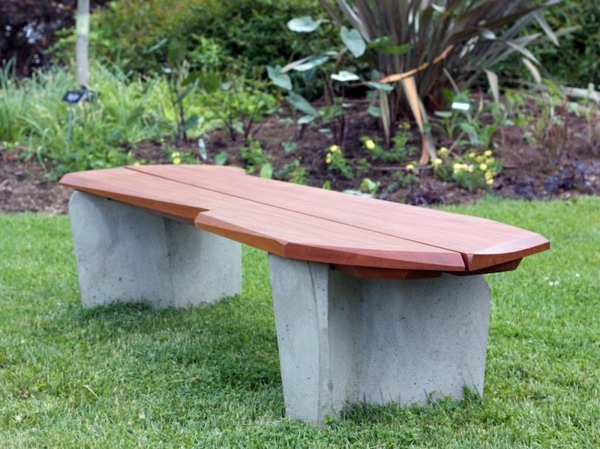 Wooden Bench Build Yourself Comfortable Seating Area For