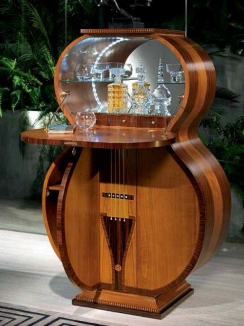 Etonnant Möbel   Bar Made In The Form Of Guitar In Italy