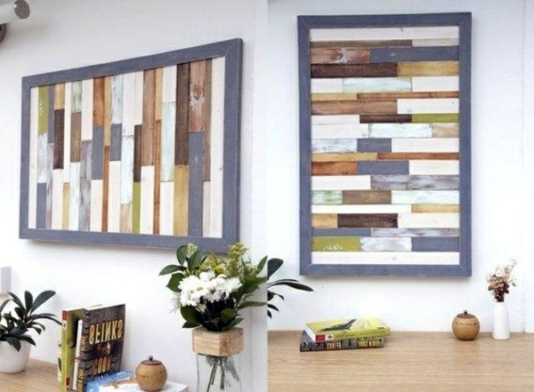 Wall Art with wood – Wall and 20 Wall Art Ideas | Interior Design