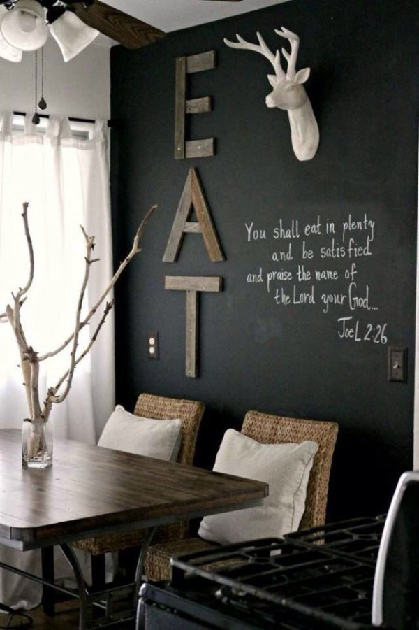 Wall Table In The Dining Room Wall Art With Wood   Wall And 20 Wall Art  Ideas Part 39