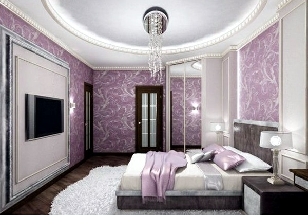 15 beautiful purple bedroom a paradise for the eyes interior design ideas avso org Royal purple master bedroom