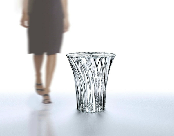 Radiant Glass Design By Tokujin Yoshioka Bar Tables And