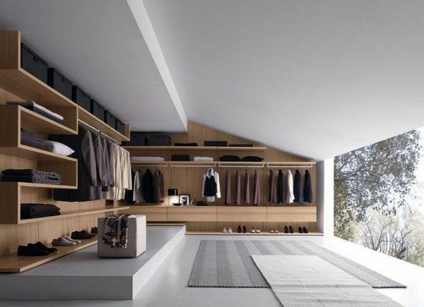 Walk-in closet – a dressing room plan and implement | Interior ...