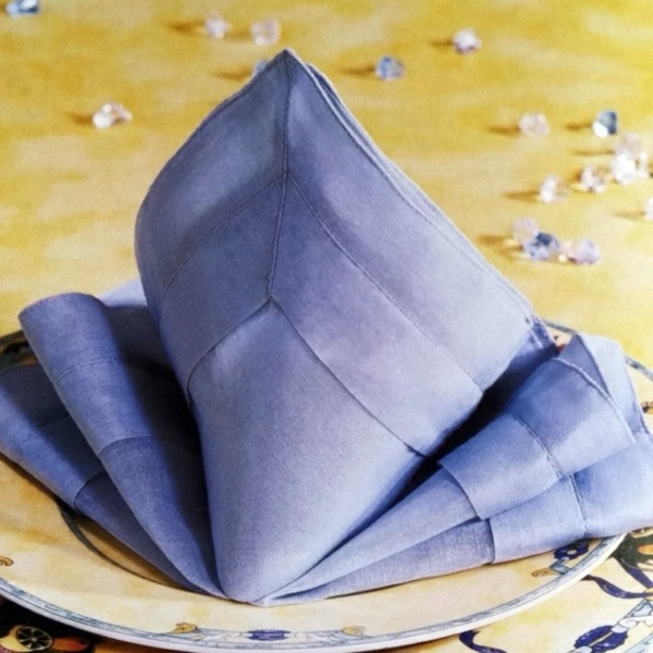 Napkin Folding – manual in pictures | Interior Design Ideas | AVSO.ORG