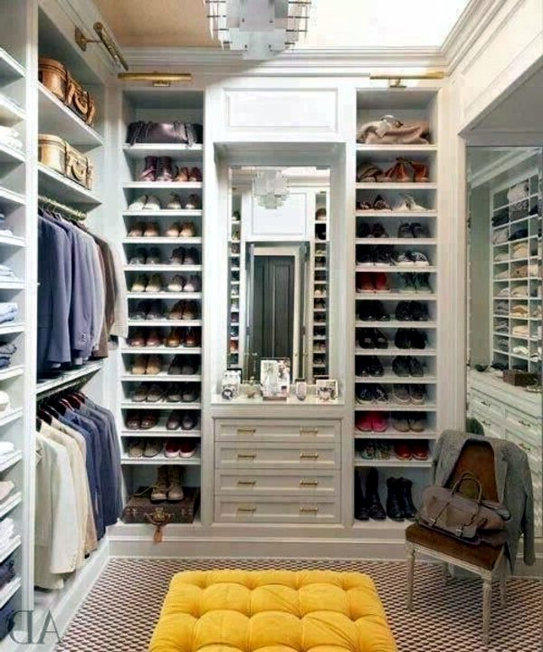 Walk In Closet Plan 50 Dressing Chic Furnishings