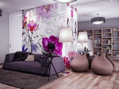 22 Beautiful floral details for Interior Design Make Cool