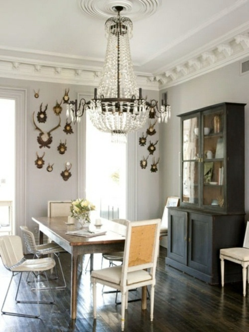 25 elegant dining room designs in various styles interior design ideas avso org - Epic image of dining room decoration with various black and white table setting ideas ...
