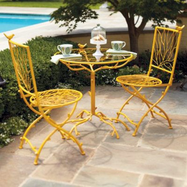 yellow patio furniture. Restoring Outdoor Furniture In Yellow Catering - Eat Harmony With Nature Patio