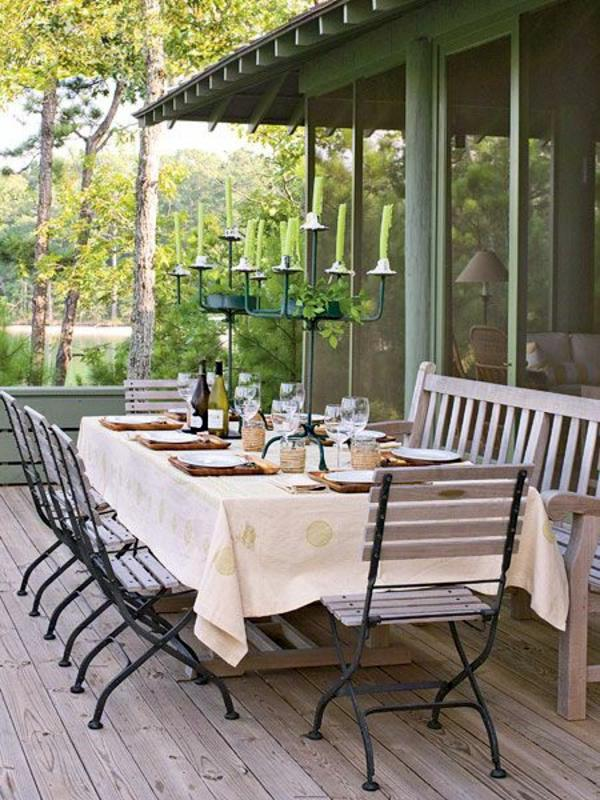 Catering Outdoor Furniture - Eat in harmony with nature