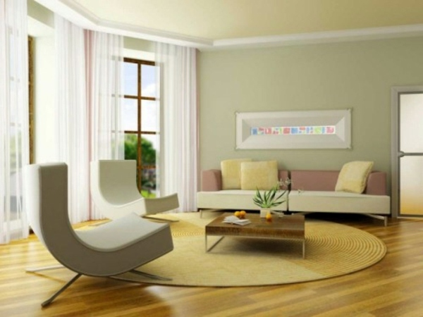 Pastel Wall Colors pastel tones as wall colors soften the ambience at home | interior