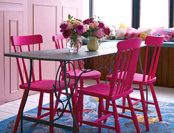 Pastel Color Chairs - Worksheet & Coloring Pages