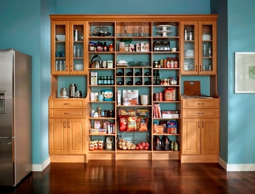 ... 20 great ideas in the kitchen pantry - food storage & 20 great ideas in the kitchen pantry u2013 food storage | Interior ...