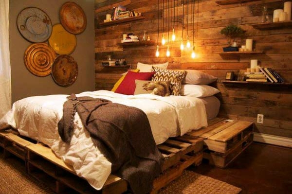60 DIY Furniture from Euro pallets – amazing craft ideas ...