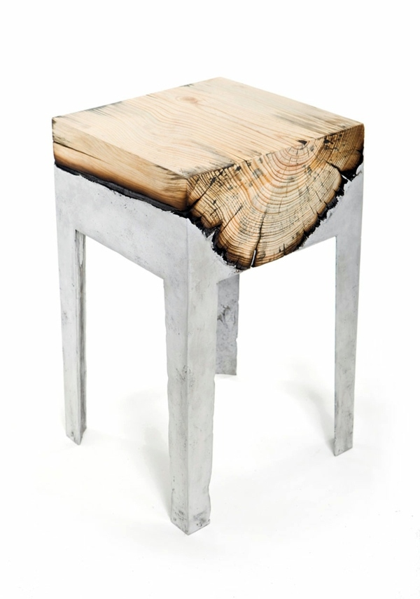 Cool Furniture From Wood And Metal Of Hilla Shamia Interior Design Ideas