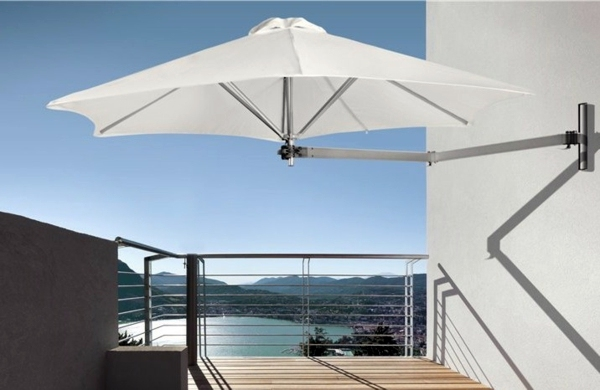 Terrace And Garden Sun Protection Ideas Use Solar Sails