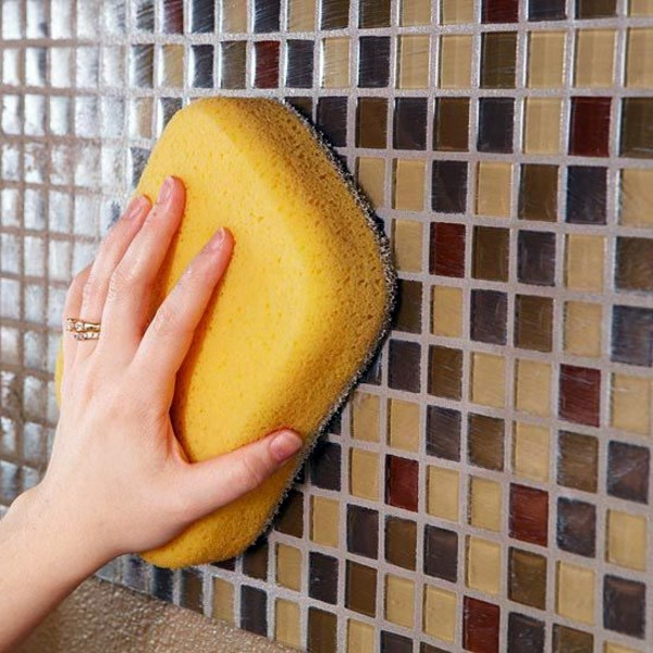 then wipe the tiles clean porcelain tiles how to make with home remedies - Cleaning Bathroom Tile