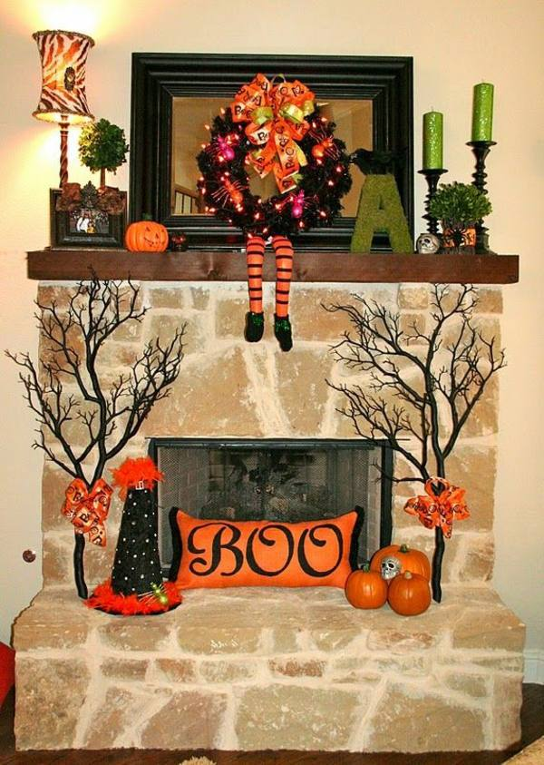 Lieblich Hochwertig Have The Chimney Halloween Decoration Tinker And Create A  Festive Mood