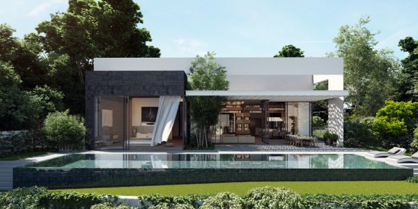 High Quality The Open Spaces Leading Outside Modern Home Shows Opulent Wall Design  Studio Designed By Ando