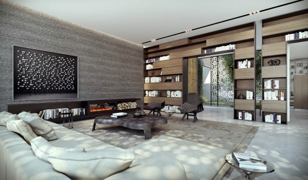 Wall Modern Design 40 contemporary living room interior designs Large Spacious Lounge In Earth Tones Modern Home Shows Opulent Wall Design Studio Designed By Ando