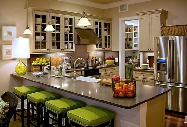 Magnificent Kitchen Offers Brightness And Functionality Functional Kitchen  Islands   Cooking, Serving And Enjoying It You!