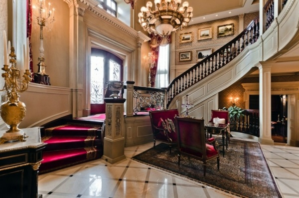 luxury interior design ideas – exclusive interiors in the castle