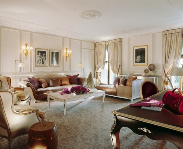 Aristocratic Salon With Momentum Luxury Interior Design Ideas Exclusive Interiors In The Castle Look