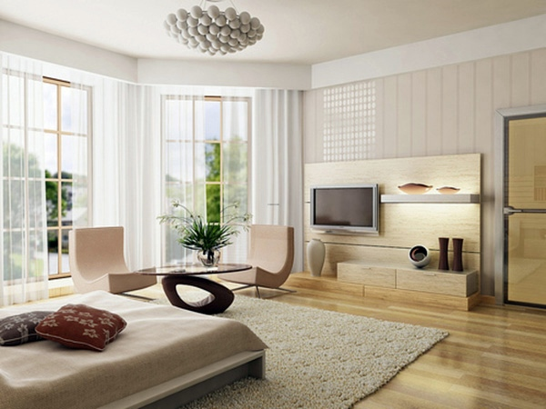 Farben   Stylish Beige Interior Design   Cozy And Pleasant Atmosphere