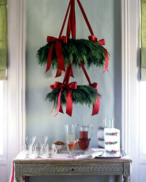 Christmas decorations to make your own interior design Make your own christmas bunting