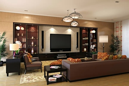 The Living Room Attractive Set Designs You Have To See