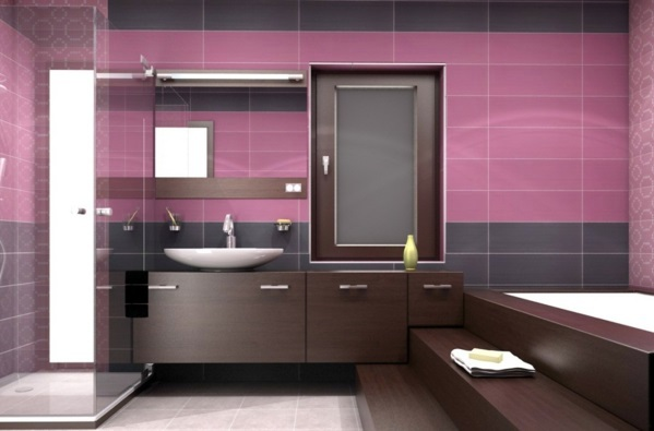 Altrosa as wall color - fresh color design