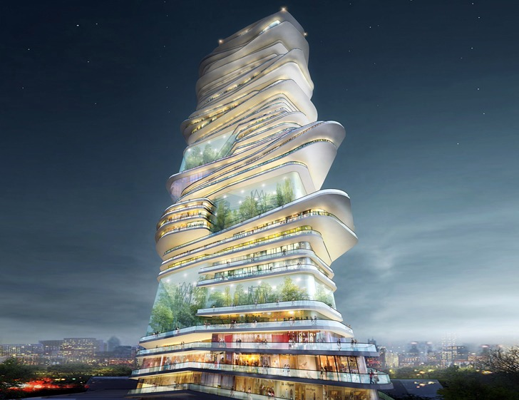 Architecture Of The Future An Innovative Project With
