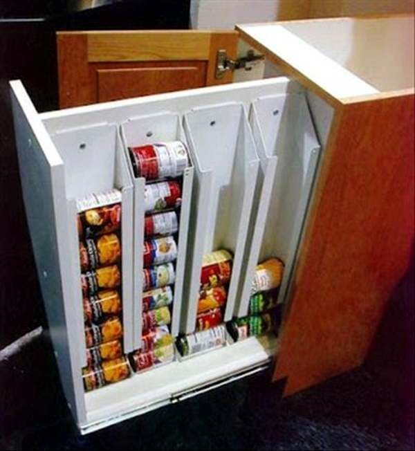 Tray For Cans Kitchen Drawer Dividers   Organize Your Kitchen Equipment!