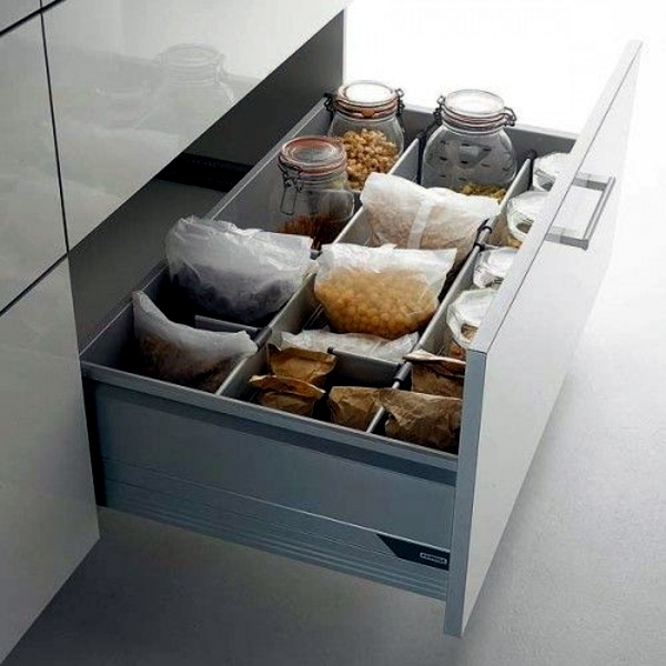 Storage Ideas For Deep Kitchen Drawers: Organize Your Kitchen Equipment